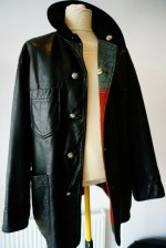 CP COMPANY 80'S REVERSIBLE LEATHER COAT